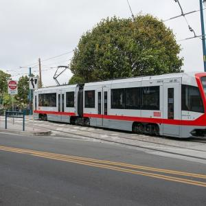 New LRV4 hitting the rails.