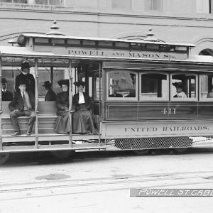 Powell Mason Cable Car.