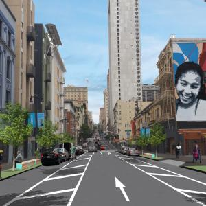 Safer Taylor Street Conceptual Design (Turk to Ellis)