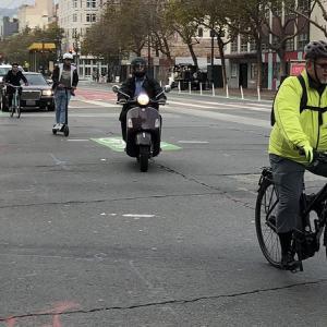 Bikes on Market Street
