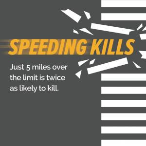 Vision Zero Speeding Kills