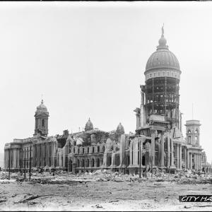 destroyed SF City Hall