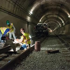 Railway maintenance and construction