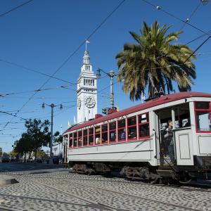 Vintage streetcar