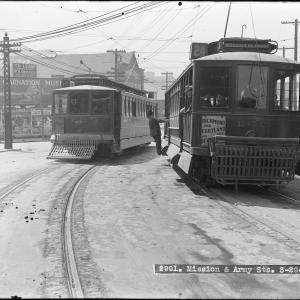 14 Mission streetcar