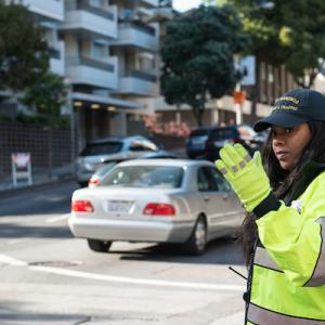 Van Ness Ave fare inspector