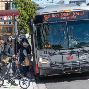 9 San Bruno Rapid picking people up