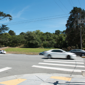 Uncontrolled Pedestrian Crossing on Fulton Street | June 3, 2016