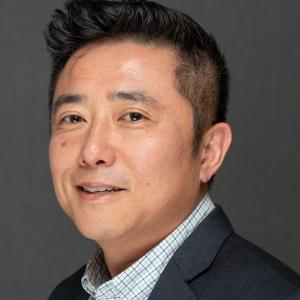 Portrait of Human Resources Manager Derek Kim