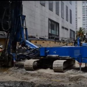 Work on Stockton street