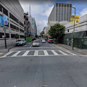 Photo of intersection at Golden Gate and Hyde