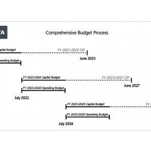 Comprehensive Budget Process graphic