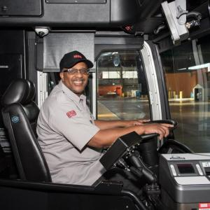 Transit Driver Appreciation Day, operator out of Flynn