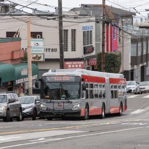 Image of L Taraval bus shuttle substitution