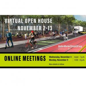 Better Market Street virtual open house information graphic