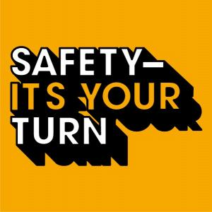 Safety - It's Your Turn campaign logo