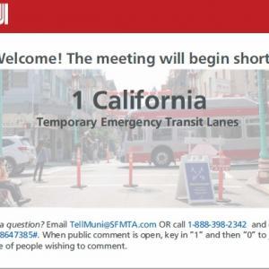 1 California TETL Community Meeting welcome slide
