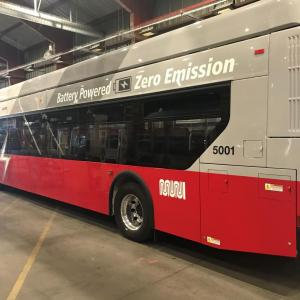 Battery-Electric Bus made by New Flyer