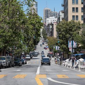 Jones Street at Golden Gate Avenue