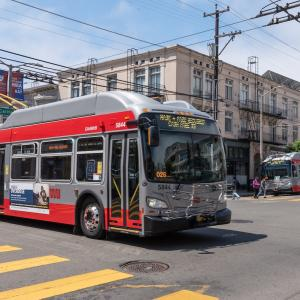 EffectiveAugust 14, 2021, bus and rail routes will serve98% of San Francisco within 2 or 3 blocks of a stop.