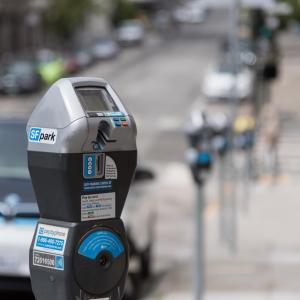 photo of a parking meter which will be replaced next year