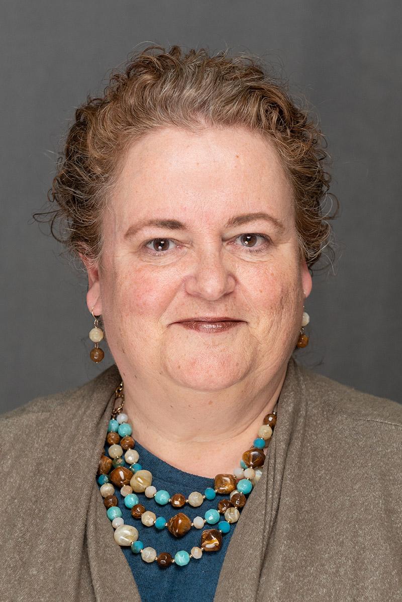 Portrait of Marketing Manager Jeanne Brophy