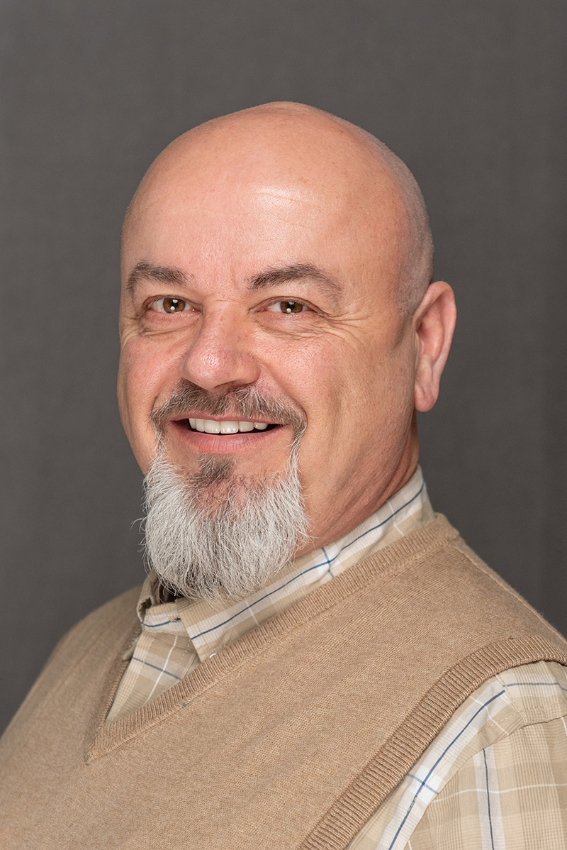 Portrait of Rail Maintenace Senior Operations Manager Randy Catanach