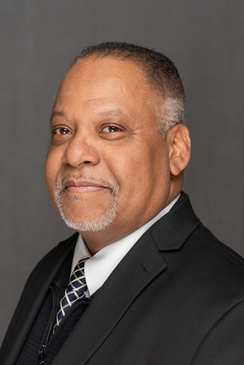 Portrait of System Safety Director Melvyn Henry
